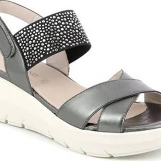 Sandály SA1880 Černá