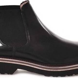 Kotníkové boty 20358 D Černá