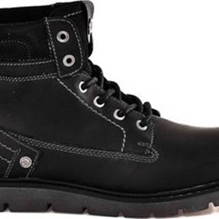 Kotníkové boty WM182011 Černá
