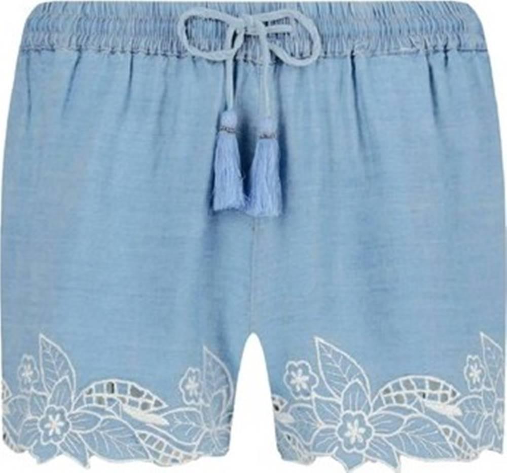pepe jeans Pepe jeans Kraťasy & Bermudy PL800838 Modrá