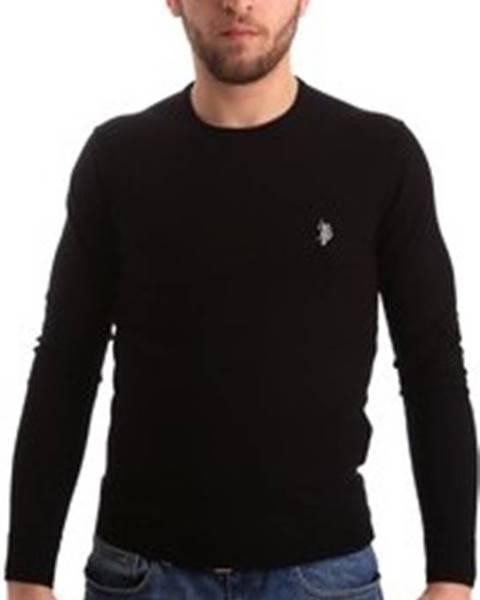 Černý svetr u.s. polo assn.