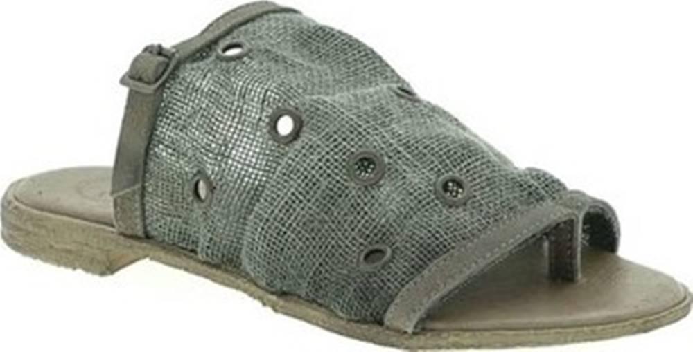 18+ Sandály 6112 Hnědá