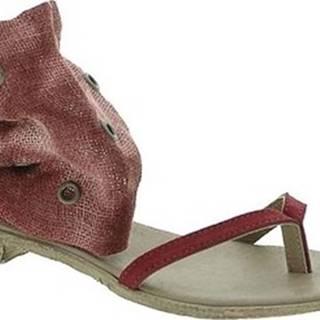 Sandály 6111 Červená