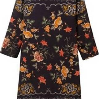 Krátké šaty 19WWVW46 Černá