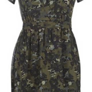 Krátké šaty BP30315-56 Zelená