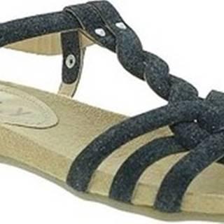 Sandály 3828GL Černá