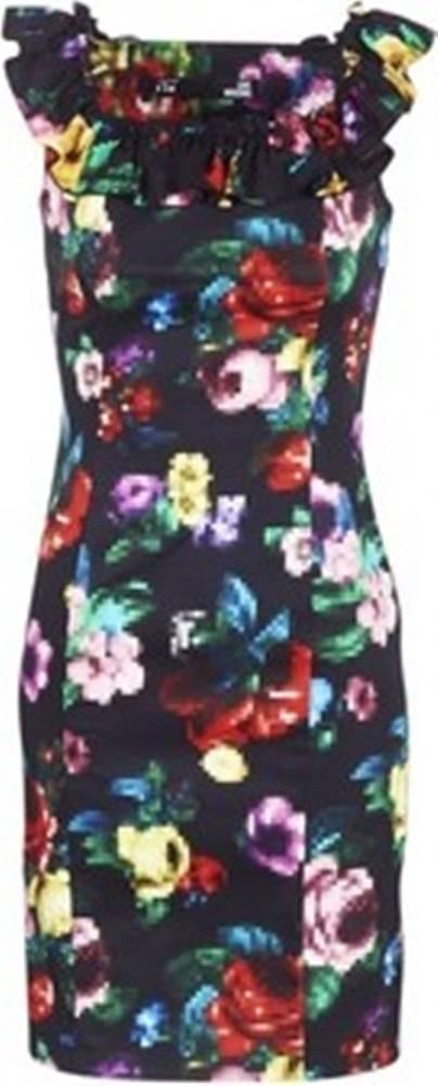 Love Moschino Krátké šaty WVG3100 Černá