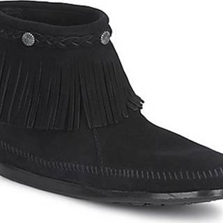 Kotníkové boty HI TOP BACK ZIP BOOT Černá
