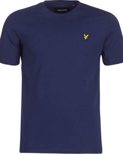Modré tričko Lyle & Scott