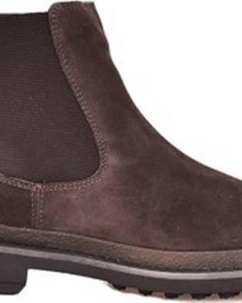 Hnědé boty u.s. polo assn.