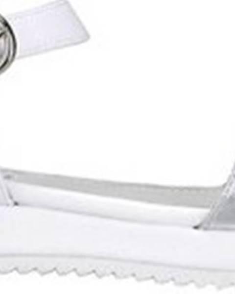 Bílé sandály Docksteps