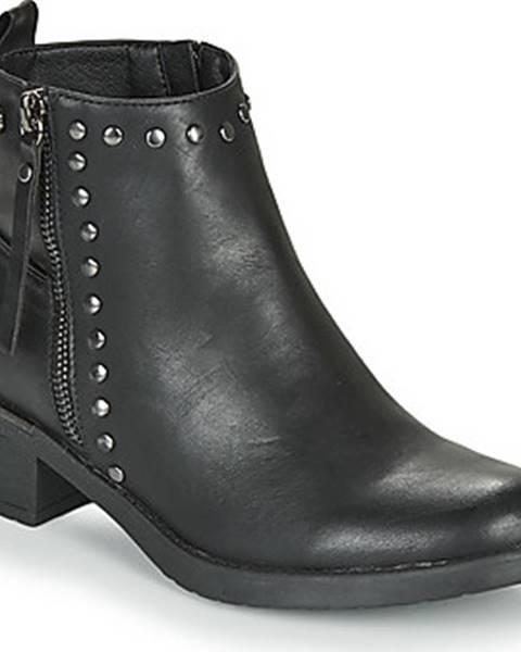 Černé boty xti