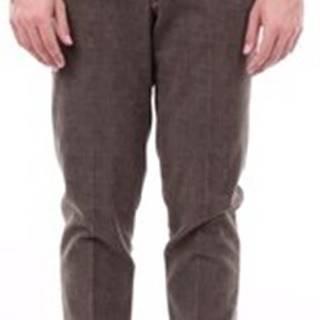 Oblekové kalhoty BRAD2487L Zelená