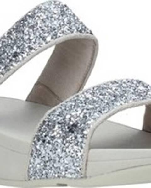 Stříbrné pantofle FitFlop