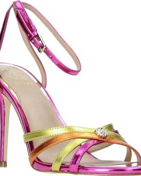 Fialové sandály Guess
