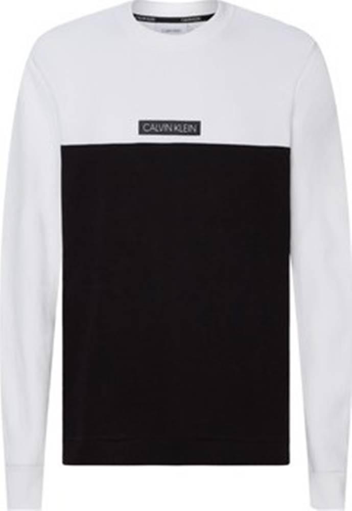 calvin klein jeans Mikiny K10K105587 Bílá