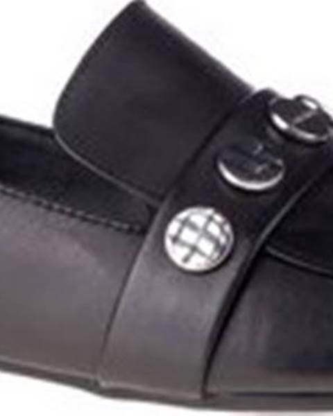 Černé mokasíny calvin klein jeans