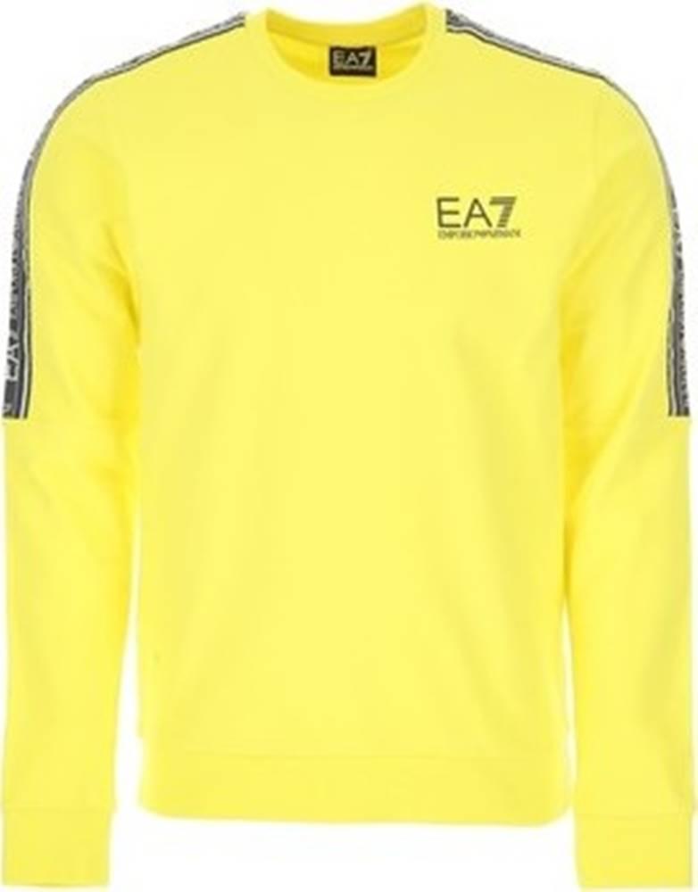 Emporio Armani EA7 Trička s dlouhými rukávy 3HPM23 PJ05Z Žlutá