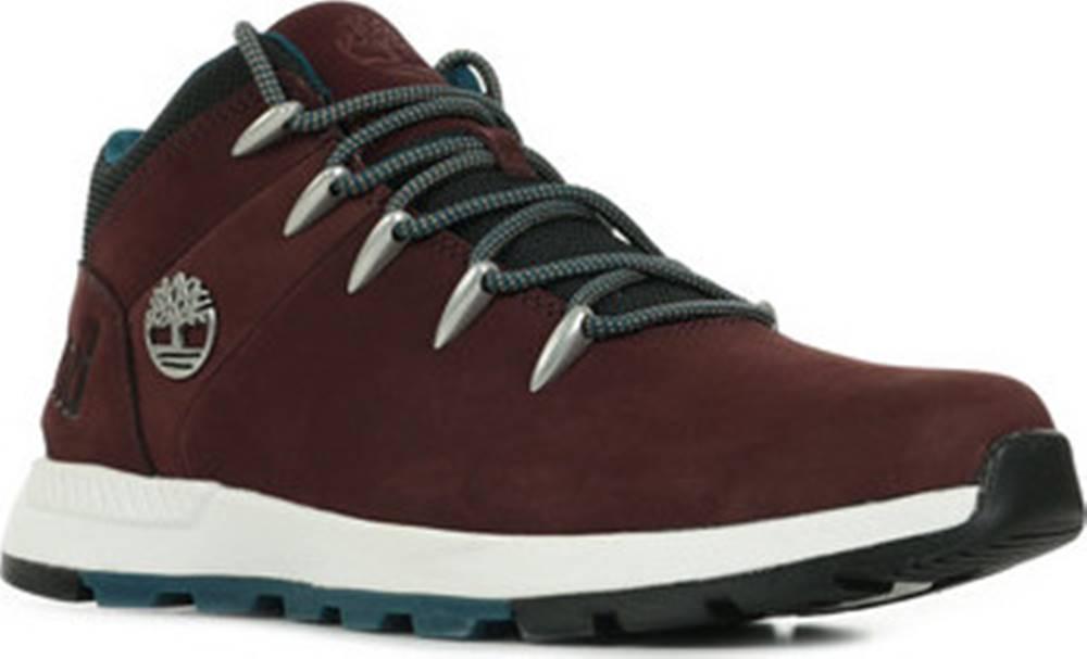 Timberland Kotníkové boty Sprint Trekker Červená