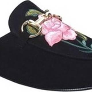 Pantofle 1731 Černá