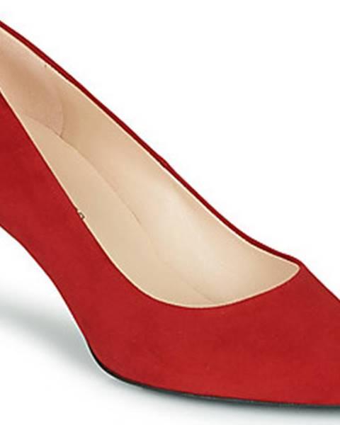 Červené boty Peter Kaiser