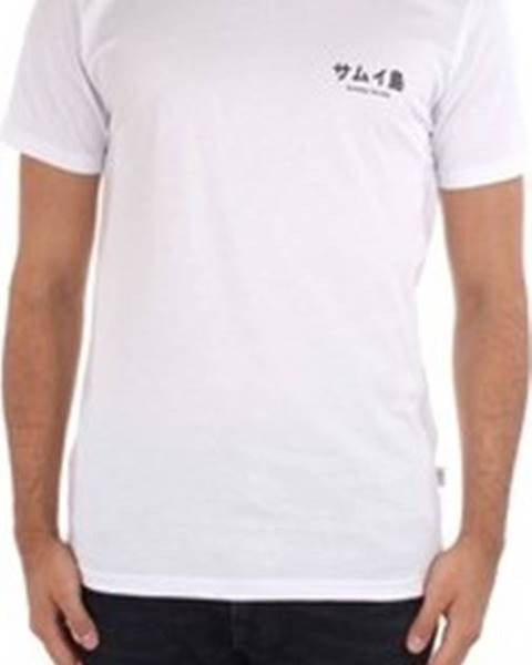 Bílé tričko Ko Samui Tailors