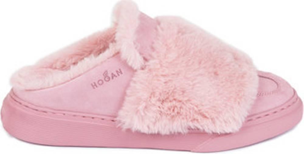 Hogan Papuče HXW3650AO80JCL01BF Růžová