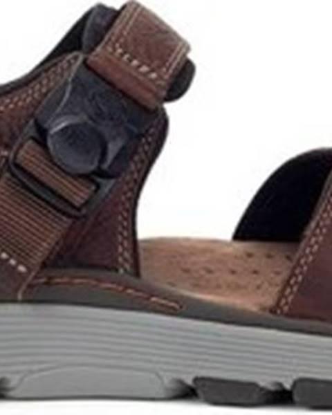 Hnědé sandály Clarks