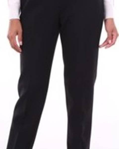 Černé kalhoty Peserico