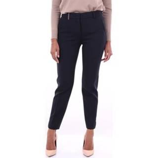 Oblekové kalhoty P0471801934 Modrá