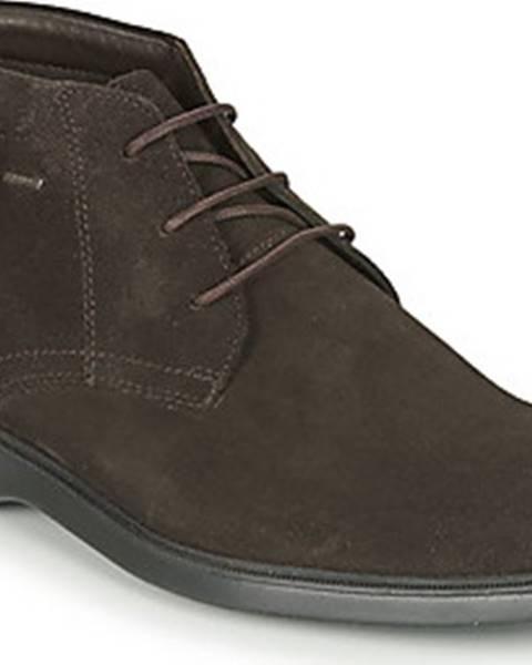 Hnědé boty geox