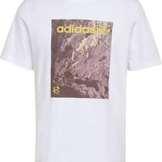 adidas Trička s krátkým rukávem Tričko Adventure Bílá