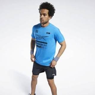 Trička s krátkým rukávem Speedwick Graphic Move T-Shirt Modrá