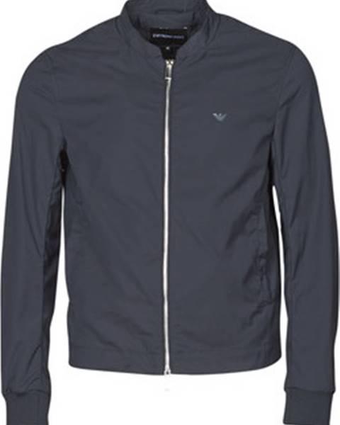 Modrá bunda Emporio Armani