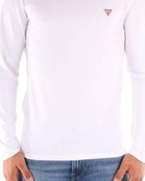 Bílé tričko Guess