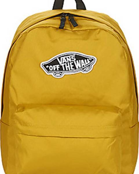 Žlutý batoh vans