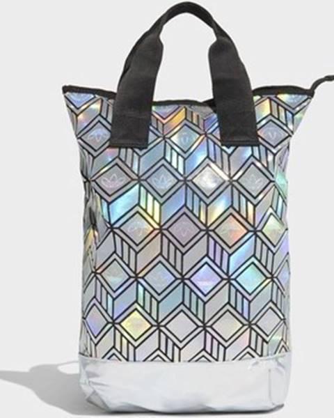 Stříbrný batoh adidas