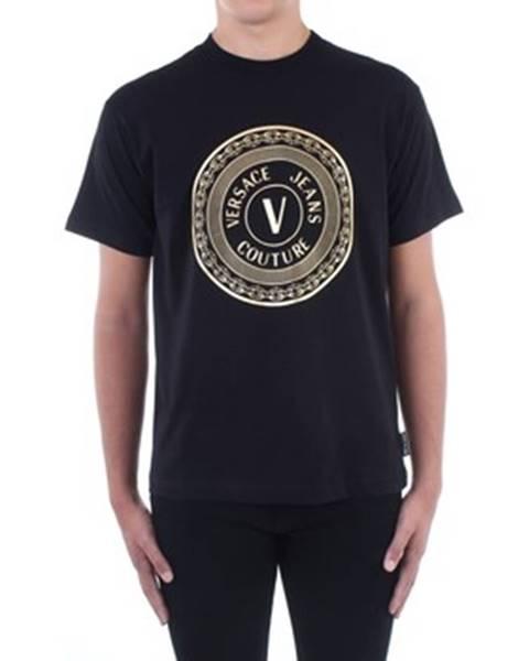Černé tričko Versace