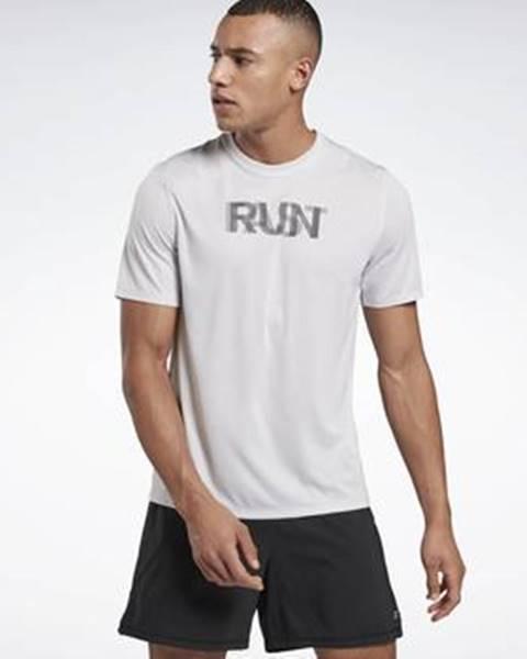 Bílé tričko Reebok Sport