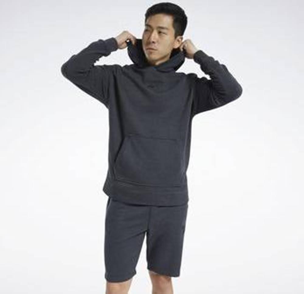 Reebok Sport Svetry Training Essentials Mélange Hoodie Černá