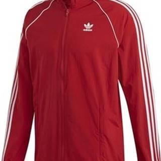 adidas Teplákové bundy DV1587 Červená