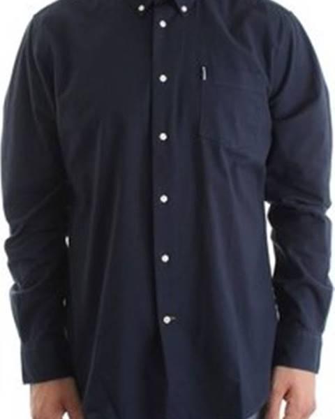 Modrá košile barbour
