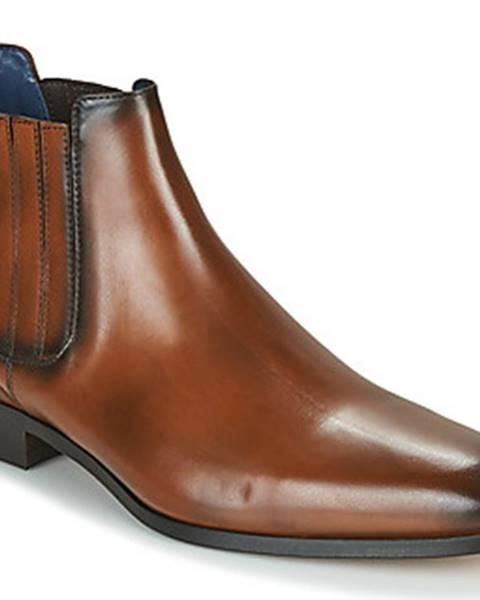 Hnědé boty Brett Sons