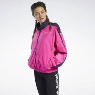 Teplákové bundy Training Essentials Woven Linear Logo Jacket Růžová