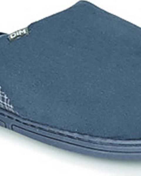 Modré domácí boty DIM