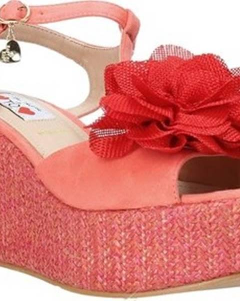 Červené sandály Love To Love