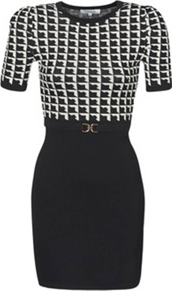 Morgan Krátké šaty RMOLI Černá