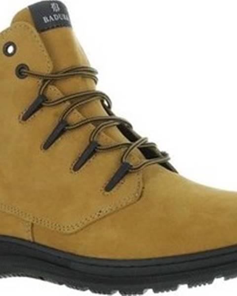 Béžové boty Badura