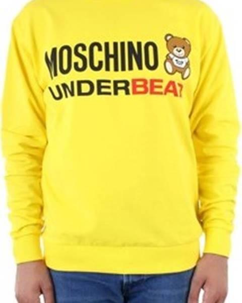 Žlutá mikina Moschino
