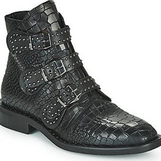 Kotníkové boty JUDITHE Černá